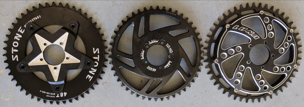 Mongoose BBSHD Update: Musical Chainrings